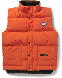 Freestyle down filled quilted gilet medium 411701
