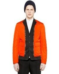 DSquared Wool Vest W Detachable Nylon Jacket