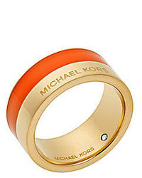 Michael Kors Michl Kors Maritime Color Blocked Band Ring