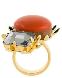 Marni Resin Embellished Ring