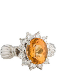 Ring Topaz Diamond