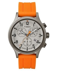 Timex Allied Chronograph Silicone Strap Watch