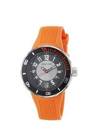 Philip Stein Active Extreme Orange Rubber Strap Watch
