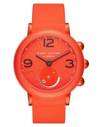 Marc Jacobs Riley Hybrid Rubber Smart Watch