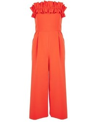 Ruffle bandeau jumpsuit medium 5028357