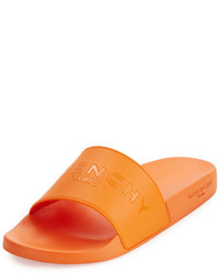 Givenchy Pool Slide Sandal Orange