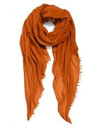 Echo Modal Silk Scarf Orange One Size One Size
