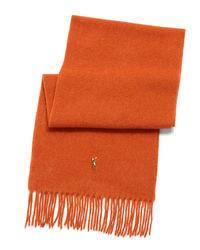 Polo Ralph Lauren Lambs Wool Fringe Scarf