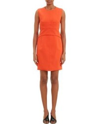 Orange sheath dress original 9814232
