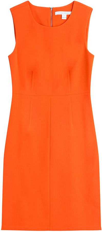 Diane Von Furstenberg Carrie Shift Dress 348 Stylebopcom