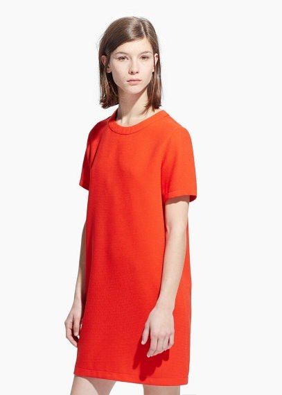 Kleid mango orange