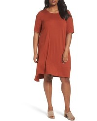 Plus size jersey shift dress medium 5267244