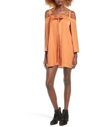 The Fifth Label In Full Light Cold Shoulder Shift Dress
