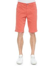 AG Jeans Ag Griffin Flat Front Shorts Orange