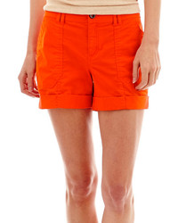 jcpenney Ana Ana Poplin Utility Shorts