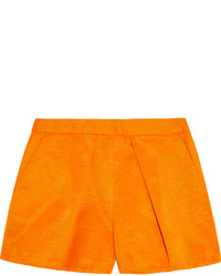 MSGM Cotton Blend Faille Shorts