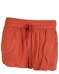 Enza Costa Challis Drawstring Waist Shorts