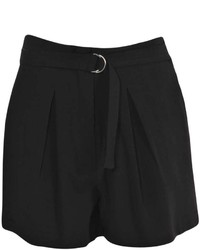 Boohoo Hayden High Waisted D Ring Detail Formal Shorts | Where to ...