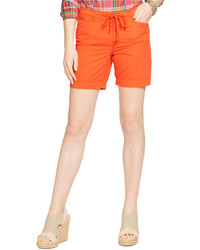 Lauren Jeans Co Chino Drawstring Shorts