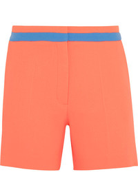 Roksanda Neon Wool Crepe Shorts