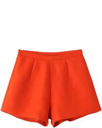 Choies Orange Loose A Line Shorts