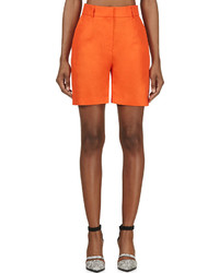 Damir Doma Orange Wide Leg Prao Shorts