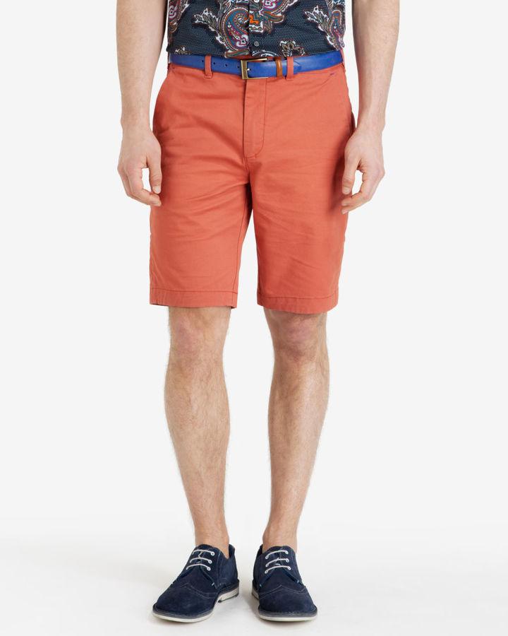 Cotton Chino Shorts Ted Baker ZH1pU