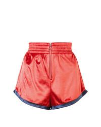 Fleur Du Mal Zip Front Shorts