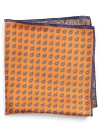 Nordstrom Shop Four Panel Silk Pocket Square