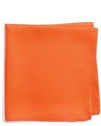 Shop solid silk pocket square medium 3750870