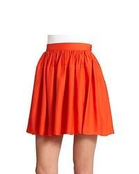 Orange skater skirt original 1484439