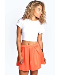 Tianna box pleat colour pop skater skirt medium 297984