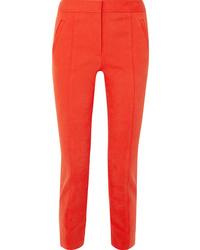 Tory Burch Vanner Stretch Cotton Blend Pants