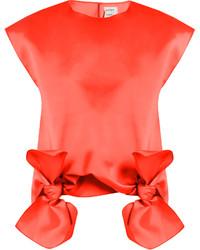 Tie front sleeveless top medium 1156689