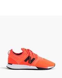 New Balance 247 Sport Sneakers In Orange