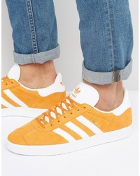 adidas Originals Gazelle Sneakers In Orange Bb5485, $100 | Asos ...