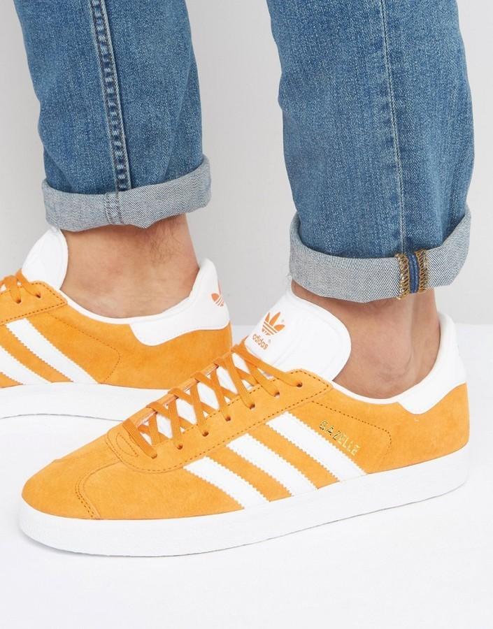 adidas gazelle orange