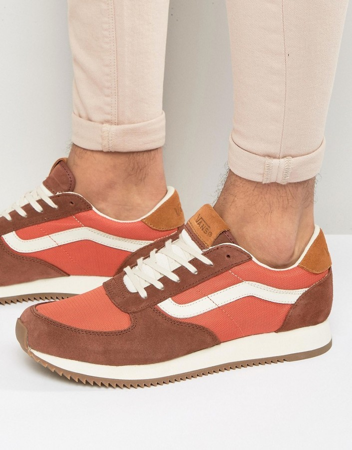Vans Runner Sneakers In Orange Va2xs8jyl, $106 | Asos | Lookastic