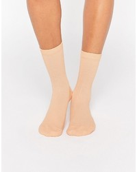 Asos Collection Plain Rib Ankle Socks