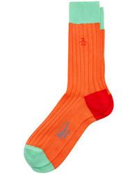 Original Penguin Color Block Sock