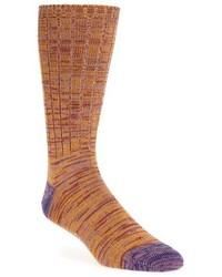 Quadtwist cotton blend socks medium 739979