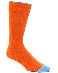Johnston & Murphy S Cotton Rib Socks