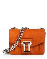 Hava suede chain crossbody bag medium 789338