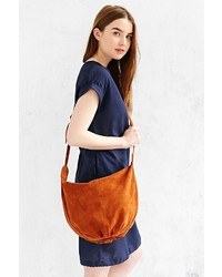 Urban Outfitters Ecote Knotted Suede Shoulder Bag