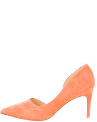 By Malene Birger Suede Dorsay Pumps W Tags