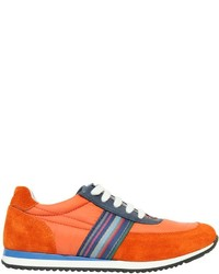 Paul Smith Nylon Suede Running Sneakers