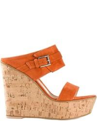 Gianvito Rossi Platform Wedge Sandals