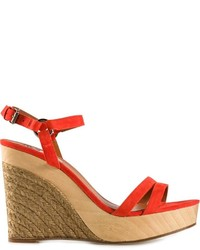 Lanvin Wedge Espadrilles Sandals