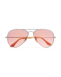 Ray-Ban Aviator Silver Tone Sunglasses