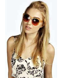 Boohoo Keira Colour Pop Sunglasses